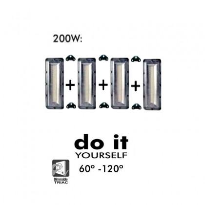Proyector DIY 200W 60º y 120º IP20