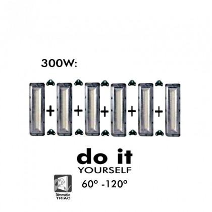 Proyector DIY 300W 60º y 120º IP20