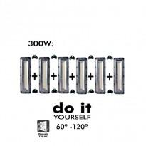 Proyector DIY 300W 60º y 120º