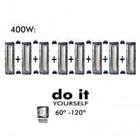 Projecteur DIY 400W 60º y 120º - Iluminación LED