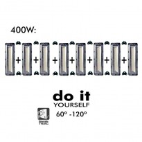 Projecteur DIY 400W 60º y 120º