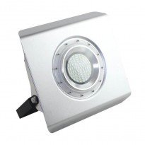 Projector LED slim exterior aluminio 30W 120º IP65