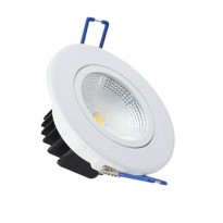 Empotrable ALUMINIO 5w 400lm 90º IP20 - Downlights Led