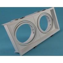 Carcasa para AR111 doble IP20 - Iluminación LED
