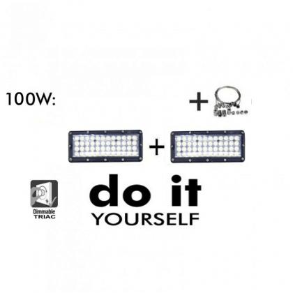 CampĂ¢nula LED DIY 150W 60º e 120º SMD 3030 -3D