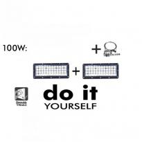 Campana LED DIY 100W 60º 6000K SMD 3030 -3D Area-led - Iluminación LED