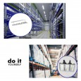 Campana LED DIY 100W 60º 6000K SMD 3030 -3D Area-led