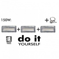 Campana DIY 150W 120º 6000K SMD 3030 -3D- - Iluminación LED