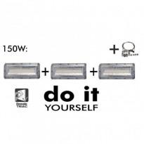 Campana LED DIY 150W 120º 6000K SMD 3030 -3D Area-led - Iluminación LED