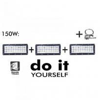 Campana LED DIY 150W 60º 3000K SMD 3030 -3D Area-led - Iluminación LED