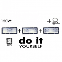 Campana LED DIY 150W 60º 6000K SMD 3030 -3D Area-led - Iluminación LED
