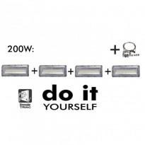 Campana LED DIY 200W 120º 6000K SMD 3030 -3D Area-led - Iluminación LED