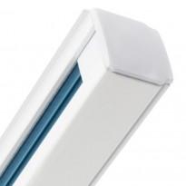 Trilho TRIFASICO 1 metro branco - Iluminação Comercial
