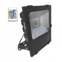 Foco Projector Exterior LED 50W RGB PROFISSIONAL