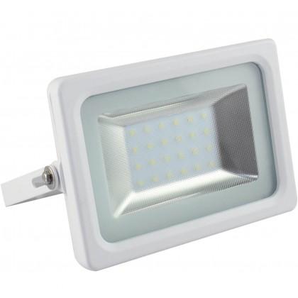 Foco Projector Exterior branco 20W IP65 ELEGANCE