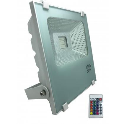 Proyector Blanco LED 30W SMD 3030 PROFESIONAL RGB Area-led