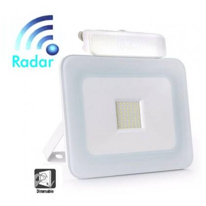 Foco Projector Exterior 20W LED Luxury RADAR BRANCO
