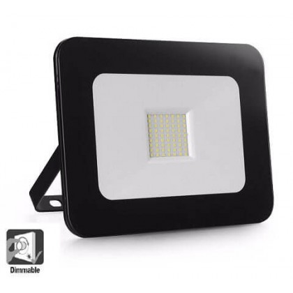 Foco Proyector Exterior LED Luxury 10W Negro 120Lm/W Area-led