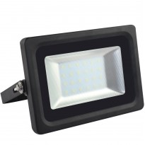 Foco Proyector Exterior Negro 25W IP65 Elegance 3030-3D Area-led - Proyectores Led Exterior Y Jardín