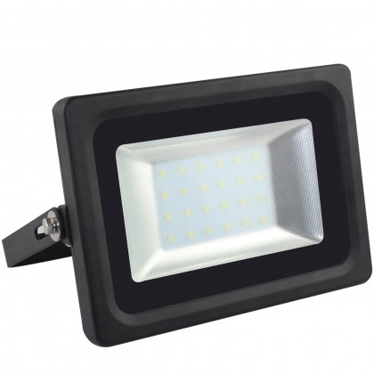 Foco Proyector Exterior Negro LED 55W IP65 Elegance 3030-3D - Area-led