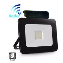 Foco Projector Exterior 30W LED Luxury RADAR Preto