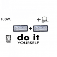 Campana LED DIY 100W 60º 3000K SMD 3030 -3D Area-led