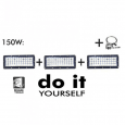 Campana LED DIY 150W 60º 3000K SMD 3030 -3D Area-led