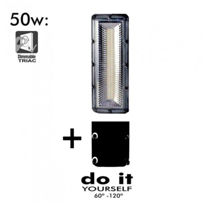 Farola LED DIY 50W 120º 3000k SMD 3030-3D Area-led