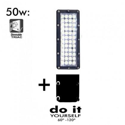 Poste DIY 50W 60° e120° SMD 3030 -3D