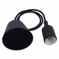 Portalámparas Negro colgante E27 Area-led - Iluminación LED