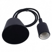 Candeeiro Suspenso Preto E27 Area-led