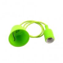 Portalámparas Verde colgante E27 Area-led - Iluminación LED
