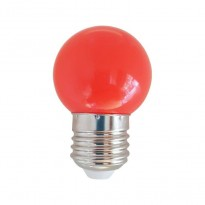 Bulbo LED 1W Vermelho E27 Area-led - Lamparas Y Bombillas Led