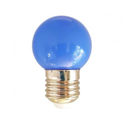 Bombilla LED 1W azul e E27 Area-led