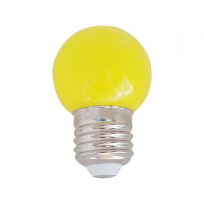 Bombilla LED 1W amarillo E27 Area-led