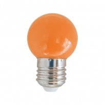Bombilla LED 1W Naranja E27 Area-led