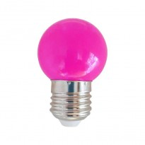 Bulbo LED 1W Rosa E27 Area-led - Lamparas Y Bombillas Led