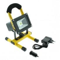 Foco proyector LED PORTATIL con batería 10W Area-Led