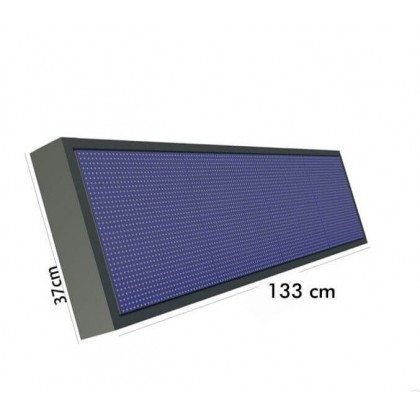 Rotulo Electronico LED Exterior RGB Full Color Pixel 10 1.33*0.37m Area-led
