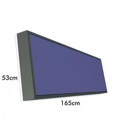 Ecran electronico RGB Full Color Pixel 10 IP65 1.65m*0.53m