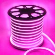 Neón LED Flexible 220V Bobina 50m 8.5w/m Rosa Area-led