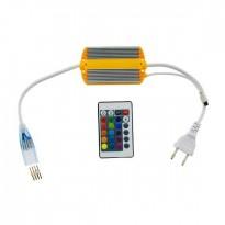 Controladora NeĂ³n LED RGB 220V 8.5W com Comando