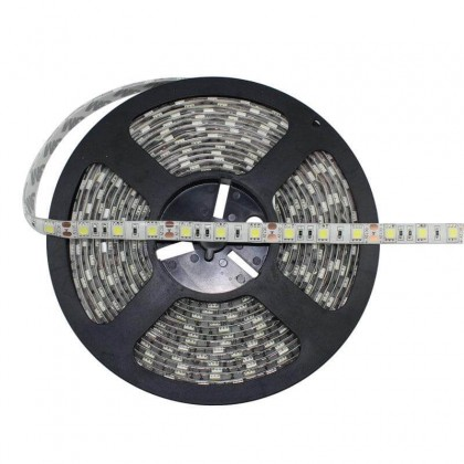 Tira LED Flexible Exterior 14.4W*5 Verde IP65 12V Area-led