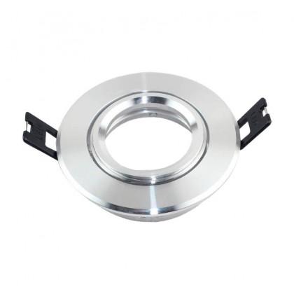Aro plata circular orientable para para MR16-GU10 Area-led