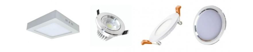 Downlight y Plafond LED