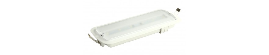 Eclairage secours led
