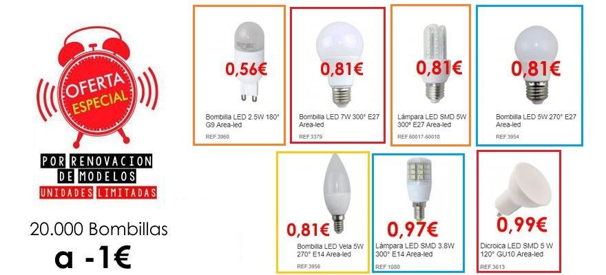 Mira nuestra super ofertas en bombillas LED !