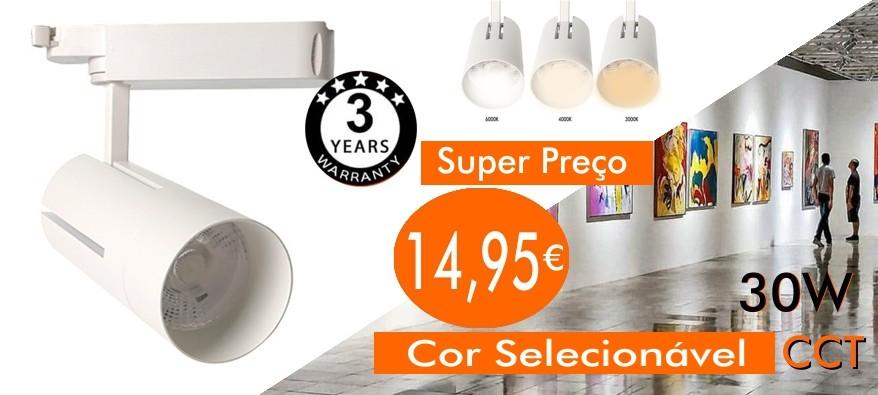 Oferta do projetor Showcase CCT com cor selecionável