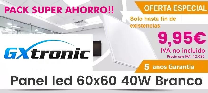 Super Ahorro en Paneles LED 9.95€+iva