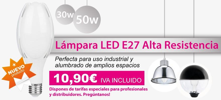 Nueva Lampara led de alta resistencia en 30w y 50w ideal para iluminar grandes espacios